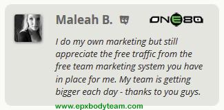 Photo: Real EPX Body Team Member Testimonial - Maleah