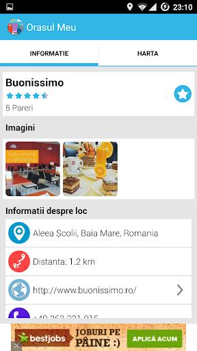 【免費旅遊App】Orasul Meu-APP點子