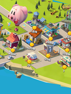 Idle City Empire MOD (Unlimited Gems/Coins) 5