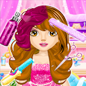 Hair Saloon Color by Number - Girls Fashion Games icon