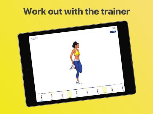 Legs workout - 4 Week Program  screenshots 8