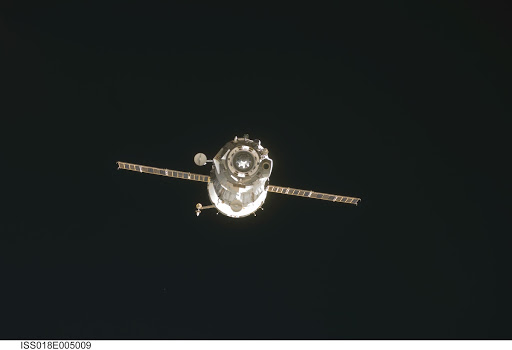ISS Expedition 18 Soyuz TMA-12 Undocking and Separation