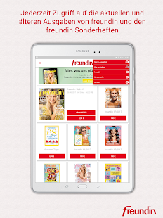 freundin Magazin DE- screenshot thumbnail