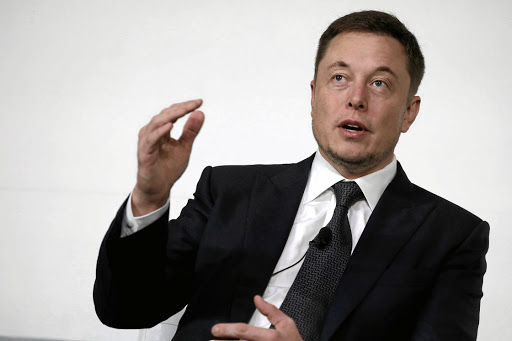 Elon Musk, founder, CEO and lead designer at SpaceX and co-founder of Tesla, speaks at the International Space Station Research and Development Conference in Washington on July 19 2017. Picture: REUTERS