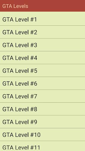 Trivia for Grand Theft Auto