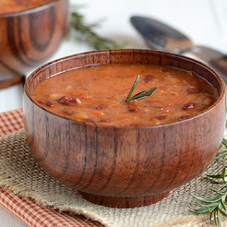 Rosemary Red Bean Soup