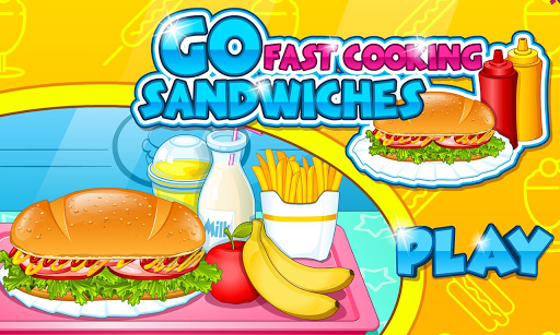 Go Fast Cooking Sandwiches
