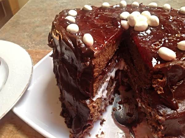 Chocolate Raspberry Layer Cake Recipe