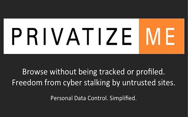 PrivatizeMe