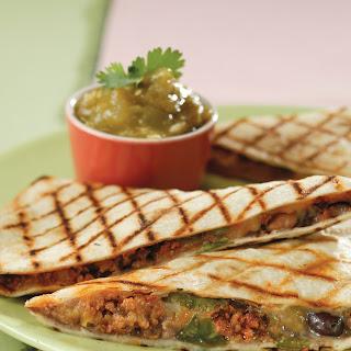 Fast-off-the-Grill Chorizo Quesadillas.