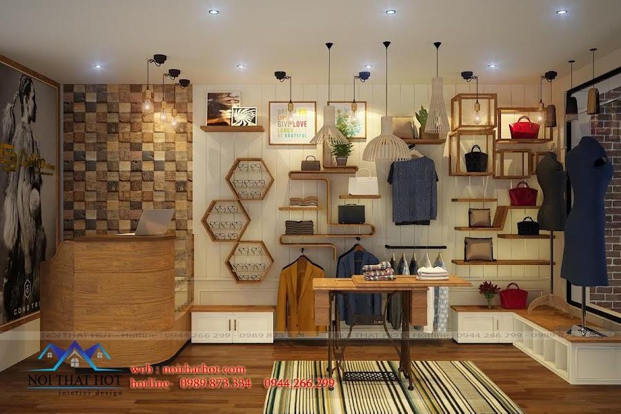 thiết kế shop thời trang nữ tại hoàng quốc việt