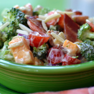 Broccoli Bacon Cheddar Salad.