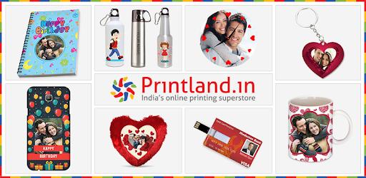 (APK) تحميل لالروبوت / PC Printland - Personalized Gifts تطبيقات screenshot