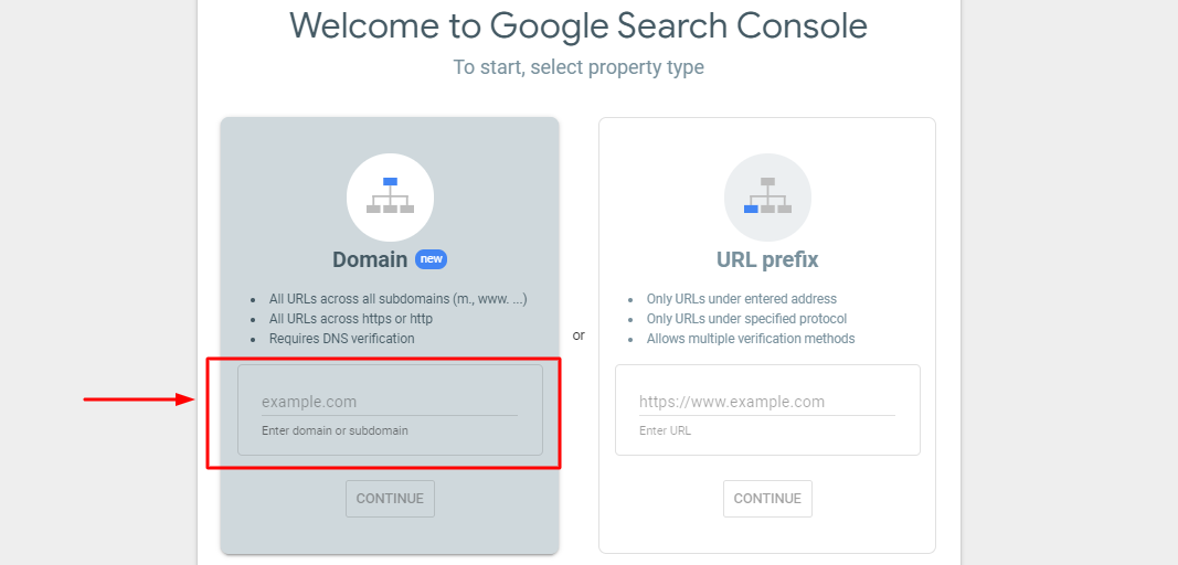 search-console-registration