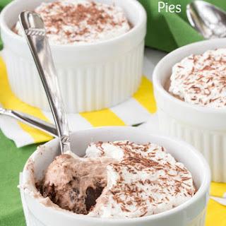 Gluten Free Mini Irish Cream Chocolate Mousse Pies