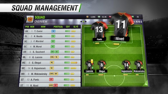 Top Eleven Be a Soccer Manager 4.1.3 - Screenshot 6