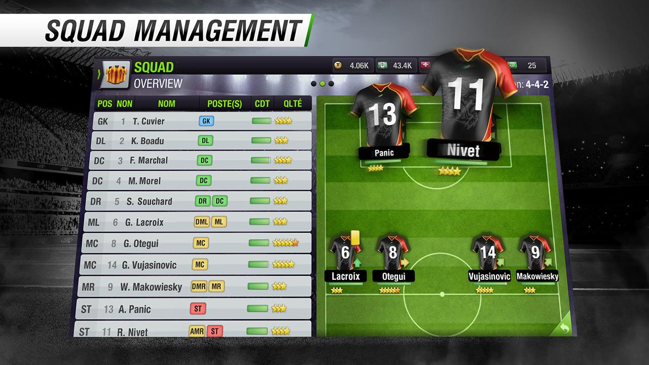 Top Eleven Be a Soccer Manager screenshot #6