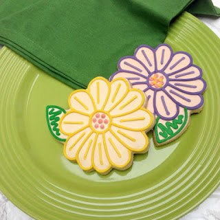 Flower Sugar Cookies.