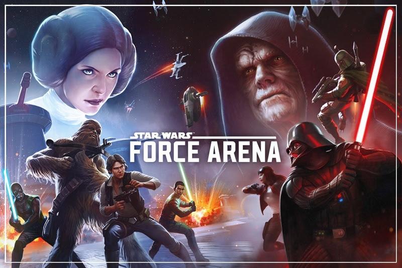 [Star Wars: Force Arena] เปิดฉาก! สังเวียนการต่อสู้บนกาแล็กซี่ผ่านสมาร์ทโฟน