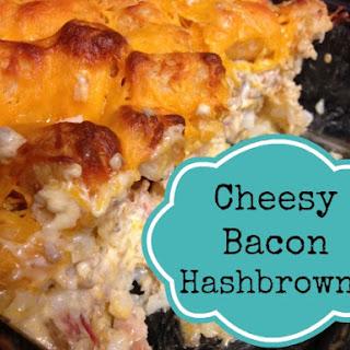 Cheesy Bacon Hashbrowns -