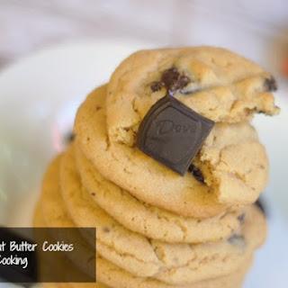 Dove Dark Chocolate Peanut Butter Cookies.
