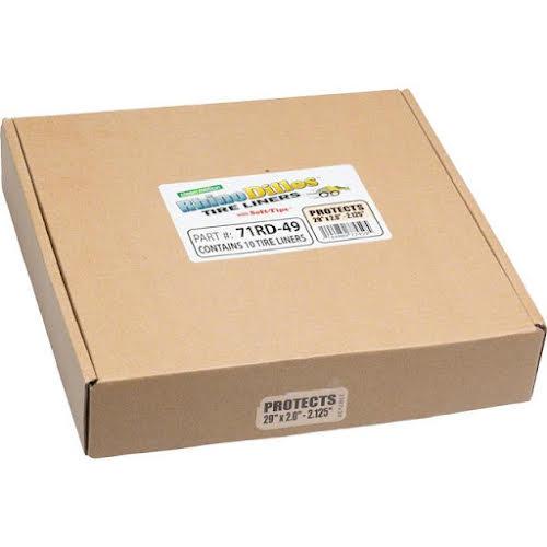 Rhinodillos Tire Liner: 29x2.0-2.125 Tan, Packaged in Bulk Box of 10