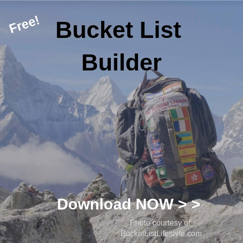 Download your FREE Bucket List Planning Guide now