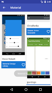 Awesome Android - UI Libraries - náhled