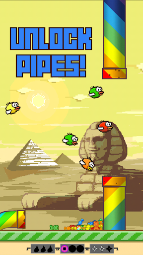 Flappy Crush  captures d'écran 2