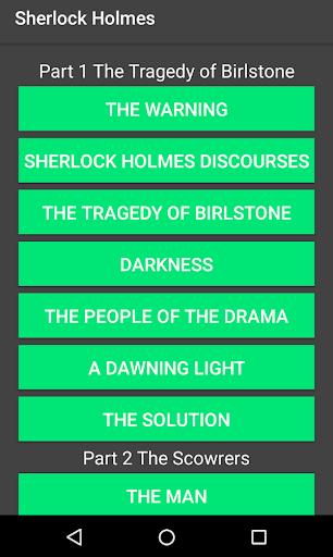 Sherlock Holmes Stories 1.3 screenshots 7