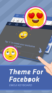Theme For FaceBook Keyboard - náhled