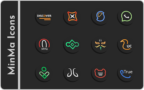 Minma Icon Pack 1 4a (Patched) APK for Android