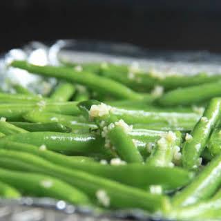 Baked Garlic Green Beans.