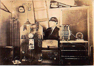Photo: 8CL 1913 Spark Gap Station in Cambridge OH