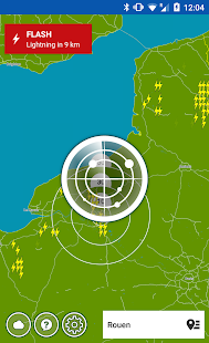 Gewitter Alarm Wetterplaza Screenshot