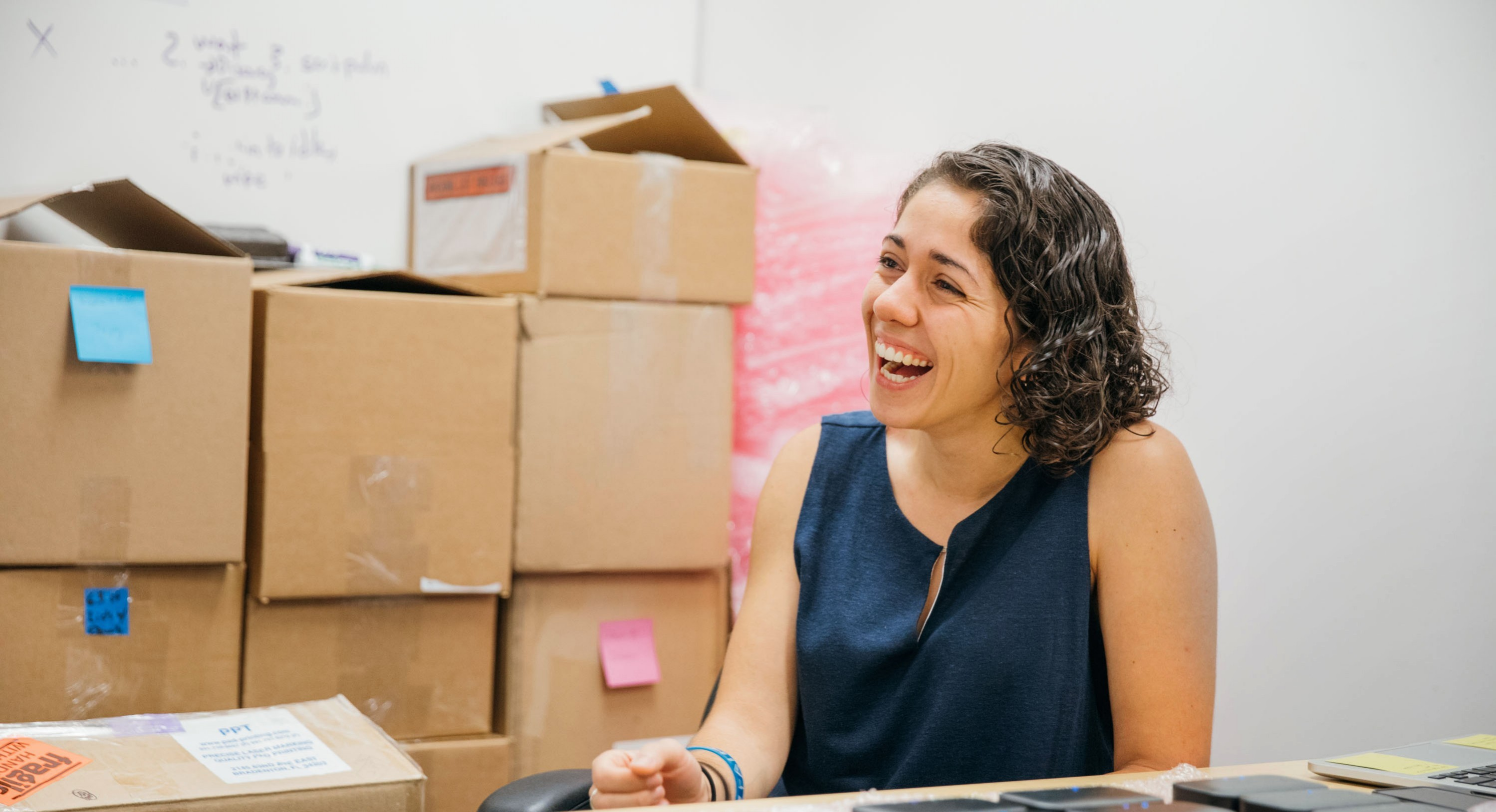 Ivonna Dumanyam the Co-Founder of Fathom AI in Durham, NC