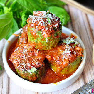Zucchini Marinara.
