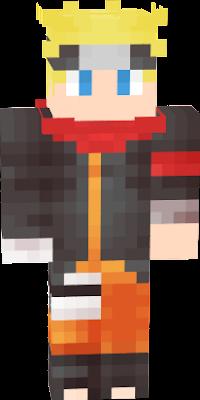 Naruto Nova Skin - Skins para minecraft pe de naruto
