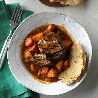 Slow-Cooked Caribbean Pot Roast.