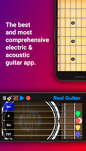 Real Guitar - Guitar Playing Made Easy. 6.14 screenshots 1