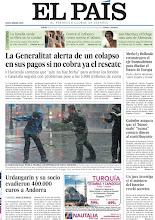 Photo: El colapso de la Generalitat de Cataluña, los 400.000 euros que evadieron Urdangarín y su socio a Andorra y las consecuencias del huracán Isaac, en la portada de la edición nacional del 30 de agosto. http://srv00.epimg.net/pdf/elpais/1aPagina/2012/08/ep-20120830.pdf