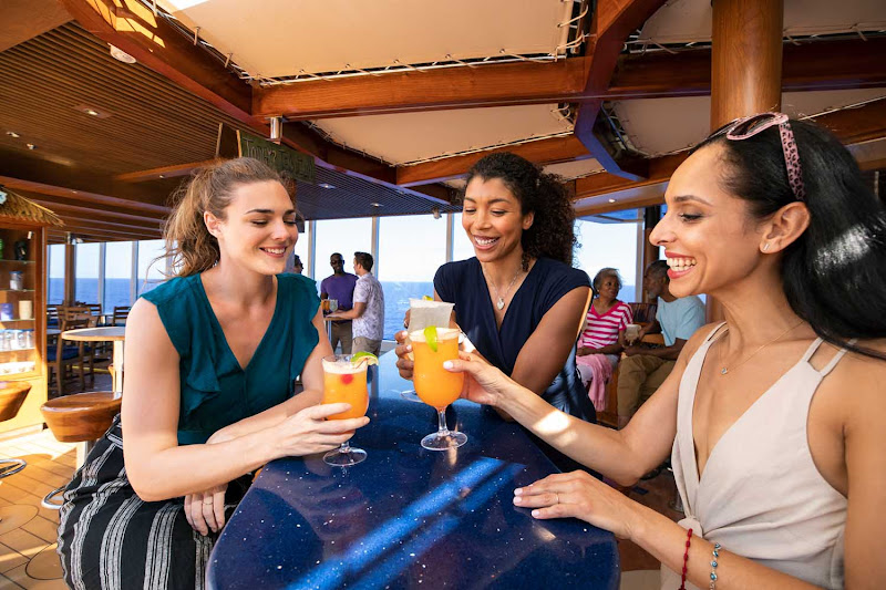 Head to the BlueIguana Tequila Bar on your Carnival cruise if you like ice-cold cervezas and slushy tequila drinks.