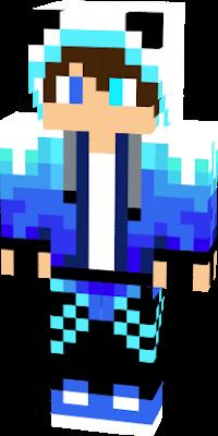 personagem de gelo