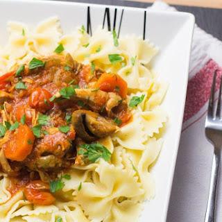 Gluten Free Chicken Cacciatore Slow Cooker Recipes