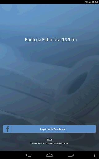 Radio la Fabulosa 95.5 fm
