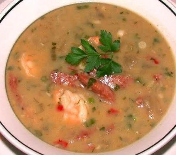Creole Stuffed Eggplant Soup Recipe