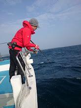 """Photo: 漁礁でまたまたヒットの""""キノシタさん""""!"""