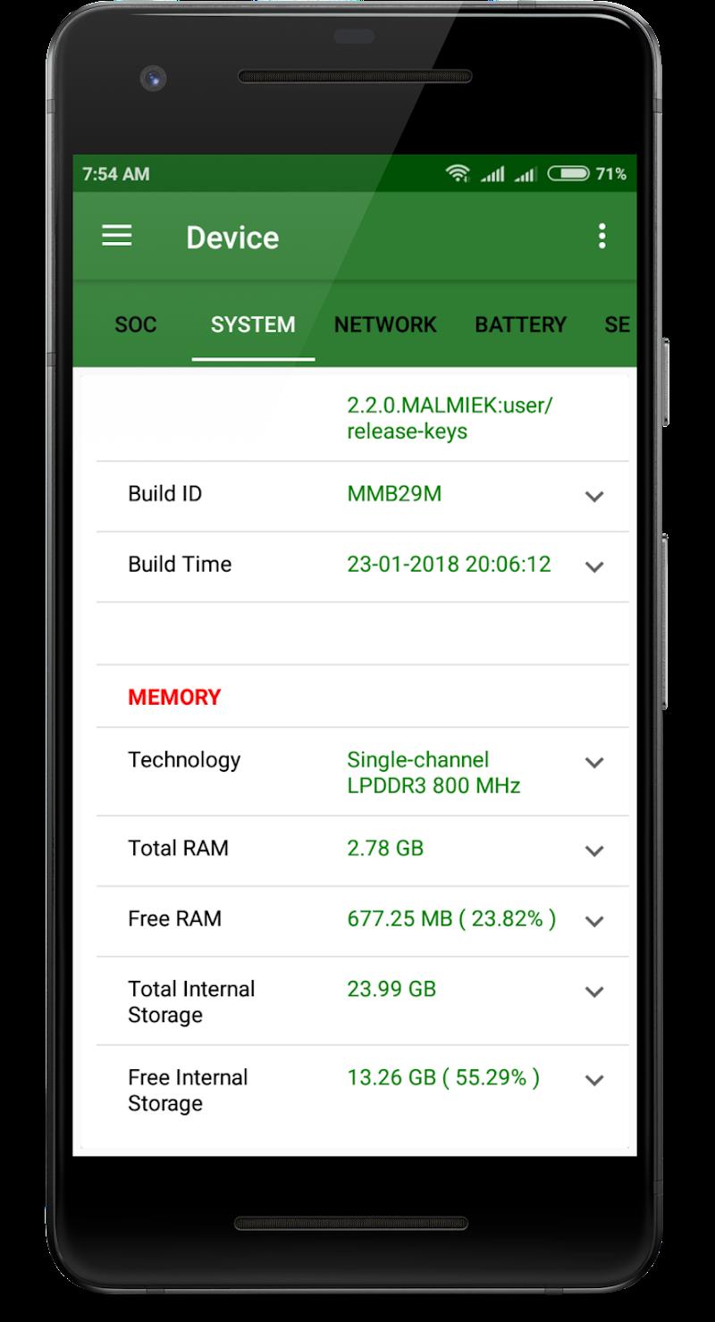CPU X : System & Hardware info Screenshot 1