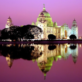 REFLECTION OF THE HERITAGE by Sayan Bhattacharya - Buildings & Architecture Statues & Monuments