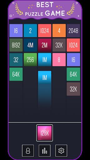 X2 Blocks - Merge Puzzle 2048 android2mod screenshots 3